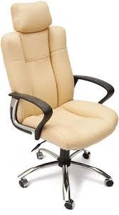 Купить <b>кресло</b> и стул <b>Tetchair Oxford</b>, хром/бежевый по выгодной ...