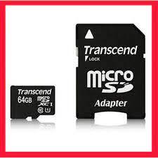 Thẻ nhớ Transcend 64GB MicroSDHC Class10