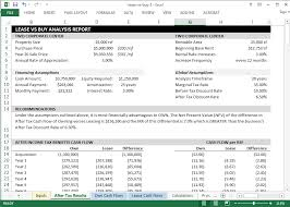 lease or buy calculation lease vs buy analysis template leasematrix