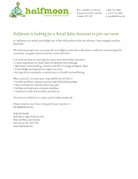 Cover Letter Sales Associate Gallery One Cover Letter Examples Sales