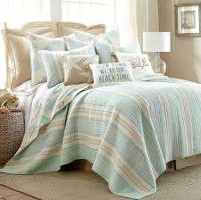 Best 25+ Quilt sets ideas on Pinterest | Bed linen sets, Cath ... & Levtex Home Teal & Taupe Coral & Stripe Quilt Set Adamdwight.com