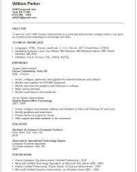 Systems Admin Resumes 16 Unique Linux System Administrator Resume Examples