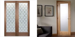 interior glass doors obscure frosted glass