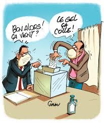"""Ouest-France on Twitter: """"Le dessin du jour d'@EmmanuelChaunu sur les # élections #municipales, alors que l'#épidémie du #coronavirus perdure 😷 Le  #maire de cette grande ville commande 320 000 stylos, un pour chaque"""