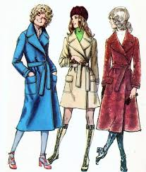 vintage sewing patterns classic trench coat