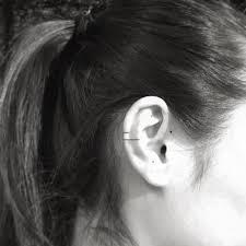 Small Ear Tattoo Ideas Helix Tattoos