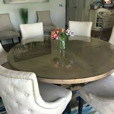 60 inch round table top glass table top inch round 1 4 inch thick flat polished