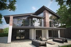 Modern Nice Design Modern Style Tree House That Has Modern Lighting