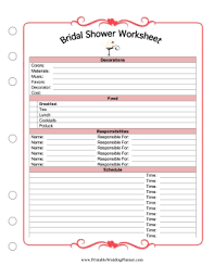 The Maid Of Honor Can Plan A Brides Bridal Shower And
