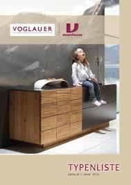 Voglauer Möbelwerk Kataloge