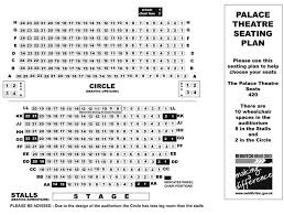 Alexandra Palace Seating Chart Seating Plan