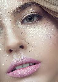 mon makeup mistakes and beauty blunders 24 too much glitter is not gold