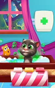 have fun with talking tom and his new toys meet his funny pets and try out all the new mini games get excited and have fun because that s what friends