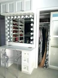 How To Make A Vanity Mirror With Lights Classy Hollywood Vanity Mirror With Lights Vanity Desk Without Mirror Desk