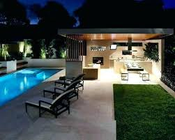 Backyard Designs With Pool And Outdoor Kitchen Stunning Modern Outdoor Kitchen Full Size Of Modern Outdoor Kitchen Backyard