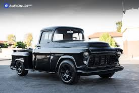 1955 Chevy 3100 Pick-Up Truck | 17x9 Helo Wheels HE904 Satin Black ...