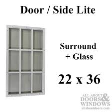 entry door glass inserts replacement impressive half lite for steel doors surround home ideas 8