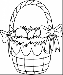 Small Picture extraordinary easter basket coloring page printables with easter