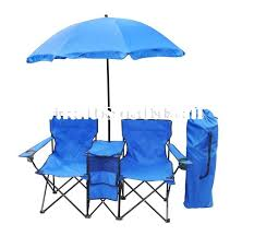 folding camping with umbrella double chair with canopy hq