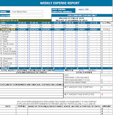 Expense Report Spreadsheets Ms Excel Automobile Expense Report Office Templates Online