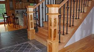 Custom Newel Post Handmade Custom Stair Newel Posts By Jl Ross Custom Woodworking