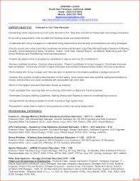 Bilingual Recruiter Resume 45 Fresh Sample Recruiter Resume Resume