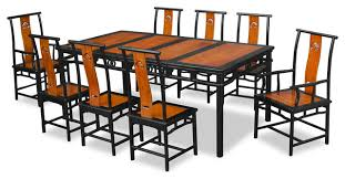 80 rosewood ming design dining table with 8 chairs asian dining sets asian dining room furniture