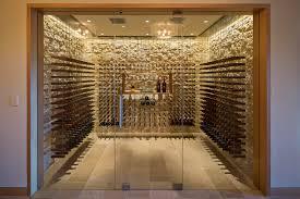 wine cellar wall decor wine cellar contemporary with wine storage glass door