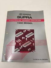 toyota supra wiring diagram 1998 toyota supra oem factory electrical wiring diagram manual book