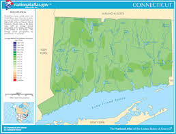 Thames River Ct Depth Chart Map Of Connecticut Lakes Streams And Rivers