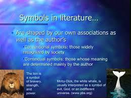 symbolism symbols in literature