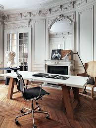 vintage office decorating ideas. perfect vintage beautiful wood work and brick wall in this masculine home office throughout vintage office decorating ideas