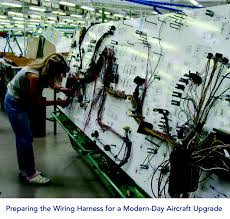 how to upgrade your aircraft practically part 2 avbuyer early aircraft upgrade modern aircraft upgrade wire harness preparation
