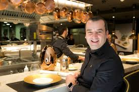romain fornell caelis restaurant barcelona romain fornell