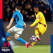 Barcelona vs napoli highlights and full match competition: Napoli Vs Barcelona 1 1 Highlights Download Video Am Onpoint Tv