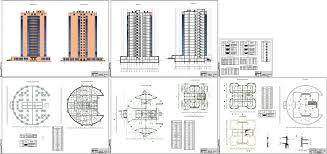 Курсовые и дипломные проекты Многоэтажные жилые дома скачать  Курсовая работа Многоэтажный жилой дом 16 этажей с общественной частью г
