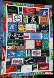 T Shirt Quilt Ideas- I have lots of shirts but need someone to ... & T Shirt Quilt Ideas- I have lots of shirts but need someone to make this  for me! | DIY & Crafts | Pinterest | Shirt quilts, Craft and Sewing projects Adamdwight.com