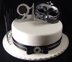 21st Birthday Cake Ideas For Girls 1420 Classic Style 21st