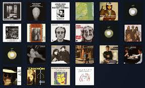The Beatles Illustrated Uk Discography John Lennon Us
