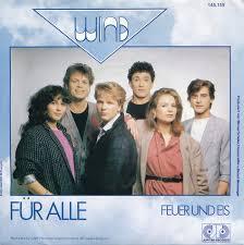 Bildergebnis für Wind ESC 1985 Für alle
