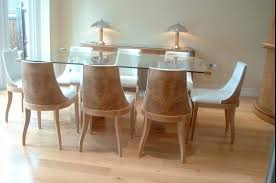 deco style furniture. Art Deco Style Dining Table And Chairs With Sideboard In Burr Oak Mirrored Panels Furniture H