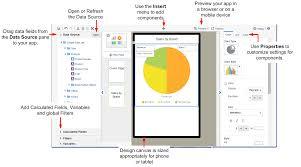 Oracle Bi Mobile App Designer Getting Started With The Designer Workspace