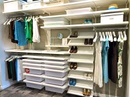 closetmaid wood shelving metal home depot decor wire installation drawers to closet systems install rubbermaid