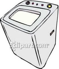 washing machine clipart. common washing machine - royalty free clipart picture s