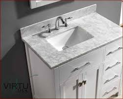 nice 36 inch vanity with top 18 bathroom right offset sink beautiful virtu usa single of