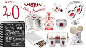 40th wedding anniversary gift ideas for husband 40th anniversary
