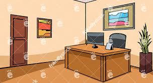 office reception desk. Empty Office Reception Desk Vector Background