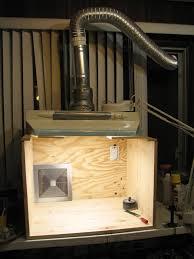 spray booth build