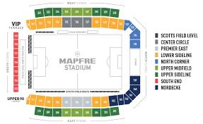 Mapfre Stadium Maps Columbus Crew Sc