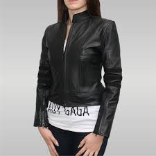 dark angel women s leather jacket black